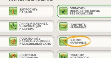 Способы пополнения карты Сбербанка