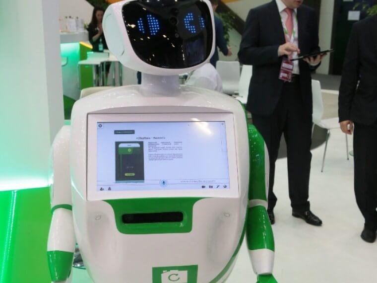 С корпоративными клиентами Сбербанка теперь работает робот Анна