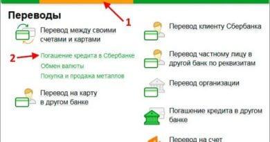 Погашение кредита в Сбербанке: способы погашения